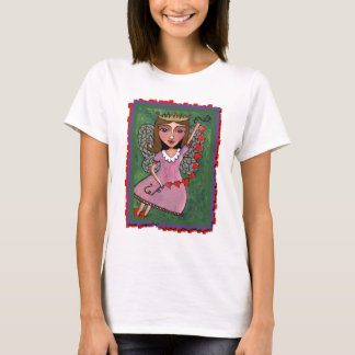Queen of Hearts Fairy - ladies t-shirt