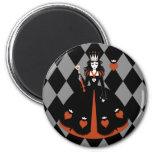 Queen of Hearts Fridge Magnets