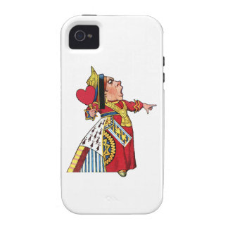 Queen of Hearts from Alice in Wonderland Vibe iPhone 4 Cover