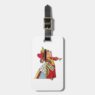 Queen of Hearts from Alice in Wonderland Luggage Tag