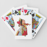 Queen of Hearts from Alice in Wonderland Bicycle Card Decks