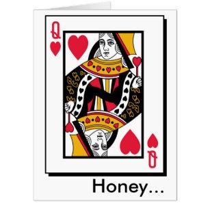 Valentine Queen Cards Zazzle