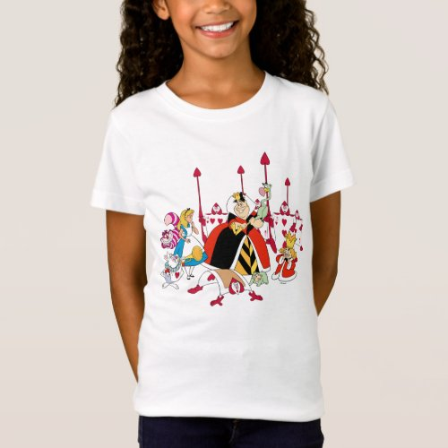 Queen of Hearts  Holding Court T_Shirt