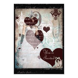 Queen of Hearts Invitation II