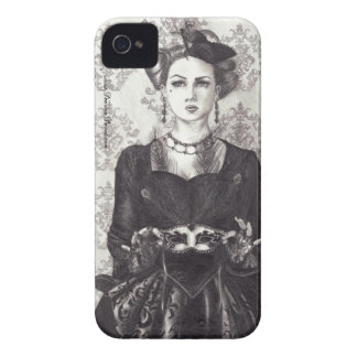 Queen of Hearts - iPhone 4/4S Case-Mate iPhone 4 Case