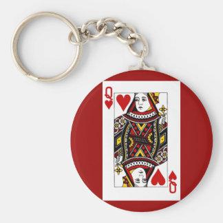 queen_of_hearts keychain