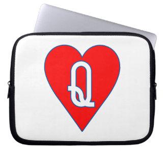 Queen of Hearts Laptop Case Laptop Sleeve