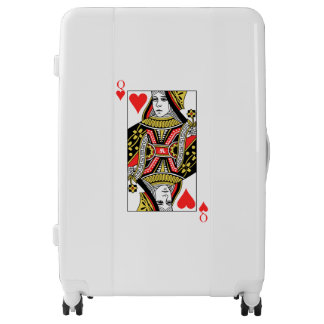 Queen of Hearts Luggage