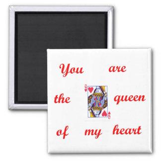 Queen of Hearts Magnet