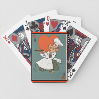 Queen of Hearts Mother Goose Rhymes Bicycle Playing Cards