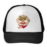 Queen of Hearts Mother Trucker Hat