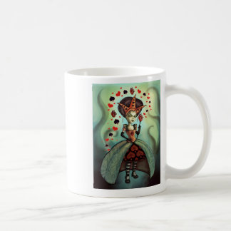 Queen of Hearts Classic White Coffee Mug