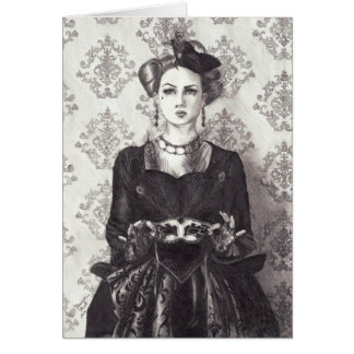 Queen of Hearts - Notecard Stationery Note Card