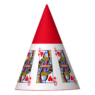 Queen of Hearts party hat