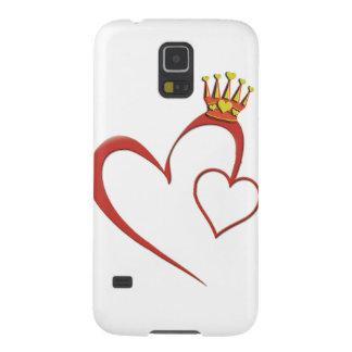 Queen of Hearts phone case S5