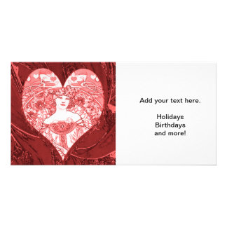 Queen of Hearts Picture Card