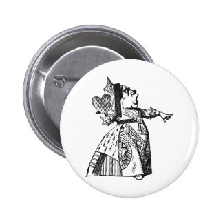 Queen of Hearts Pinback Button