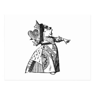 Queen of Hearts Postcard