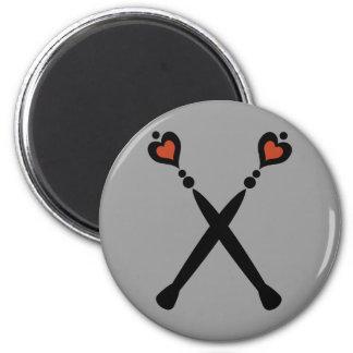 Queen of Hearts Scepters Magnet
