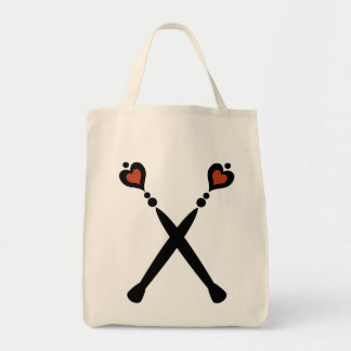 Queen of Hearts Scepters Tote Bag