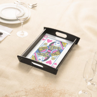 Queen of Hearts Serving Tray
