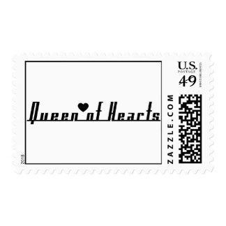 Queen of Hearts Stamps