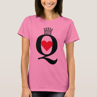 """Queen of Hearts"" t-shirt"