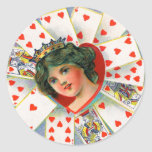 QUEEN OF HEARTS ,Valentine's Day Stickers