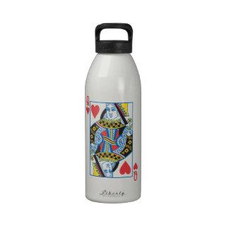 Queen of Hearts Drinking Bottle