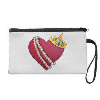 Queen of Hearts Wristlet Purse
