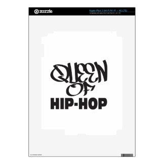 queen of hip hop skin for iPad 3