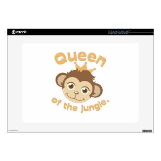 """Queen Of Jungle 15"""" Laptop Skins"""