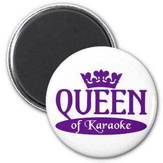 Queen of Karaoke magnet