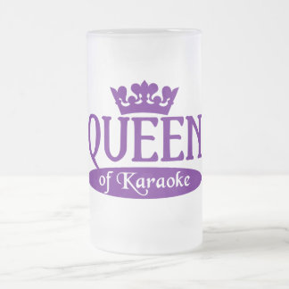 Queen of Karaoke mug - choose style & color