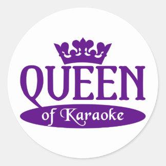Queen of Karaoke stickers