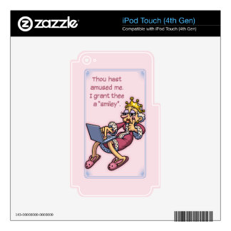 Queen of Likes Skins For iPod Touch 4G