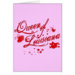 Queen of Louisiana Greeting Card
