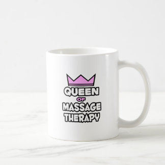Queen of Massage Therapy Coffee Mugs