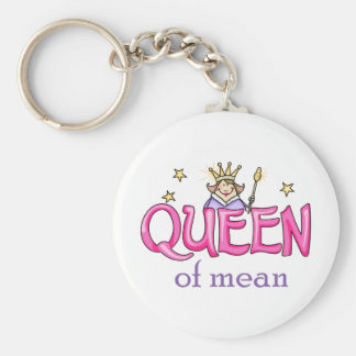 QUEEN OF MEAN KEY CHAIN