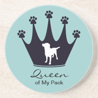 Queen of My Pack Drink Coasters