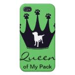 Queen of My Pack iPhone 4 Case