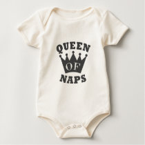 Queen of Naps Baby Bodysuit