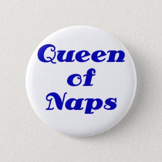 Queen of Naps Button