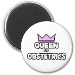 Queen of Obstetrics Fridge Magnets