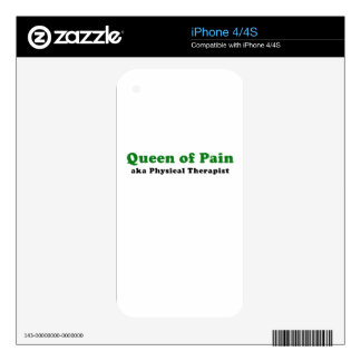 Queen of Pain aka Physical Therapist Decal For The iPhone 4