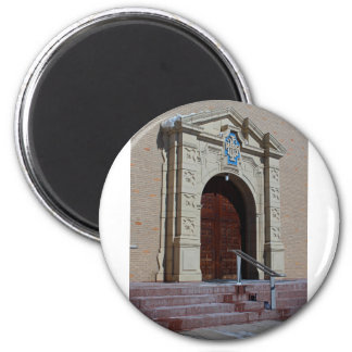 Queen of Peace Chapel Doors Magnet