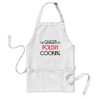 Queen of Polish cooking Adult Apron