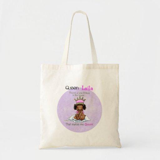 Queen of Prince - African American Big Sister bag
