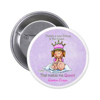 Queen of Prince - Big Sister Button