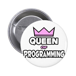 Queen of Programming Button